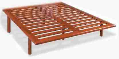 Rete legno doga stretta massello Francese - Offertematerassi