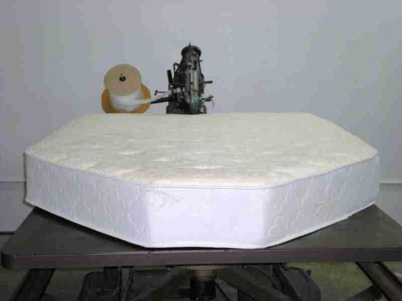 Materasso sagomato per barca in poliuretano lattice waterlily o memory