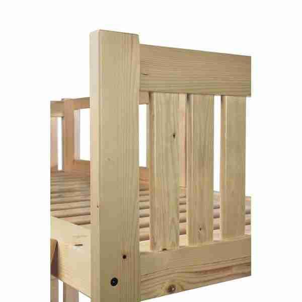 Letto a castello in legno massello. Alta qualità produzione di ...