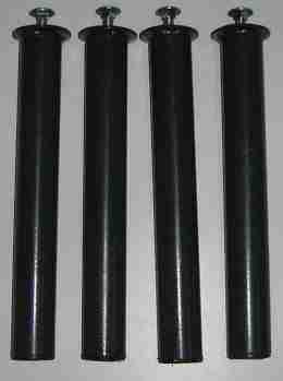 Set gambe in metallo di ricambio per reti a doghe - Offertematerassi