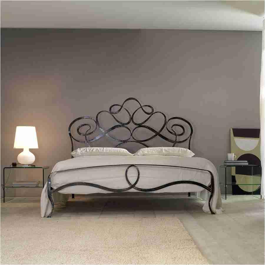 Letto due piazze ferro battuto modello arabesco vendita for Ferro battuto letto