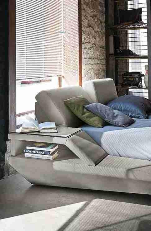 Letto king size moderno modello ELBA - Vendita online