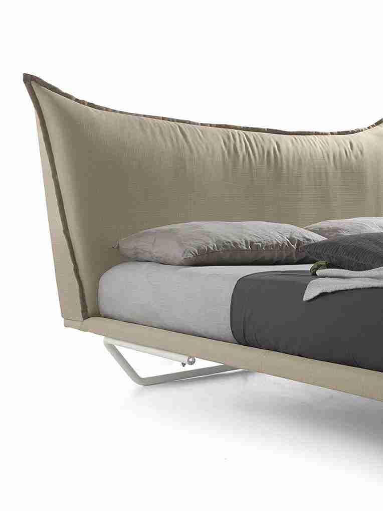 Letto design moderno singolo xl modello maxim vendita - Testata letto design ...