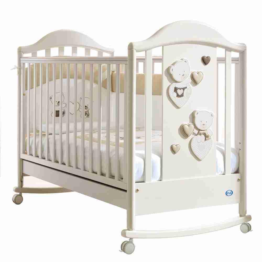 Lettini Per Bambini.Celine Baby Pali Lettino Bianco