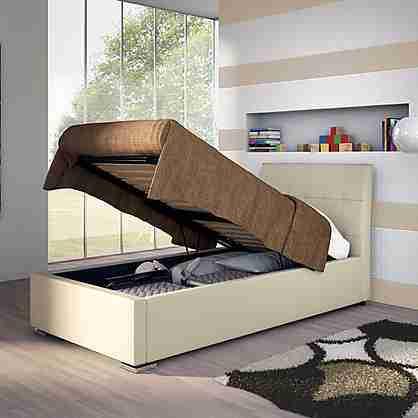 Mondo convenienza letti con contenitore affordable letto una piazza e mezza con contenitore - Letto raffaella ...