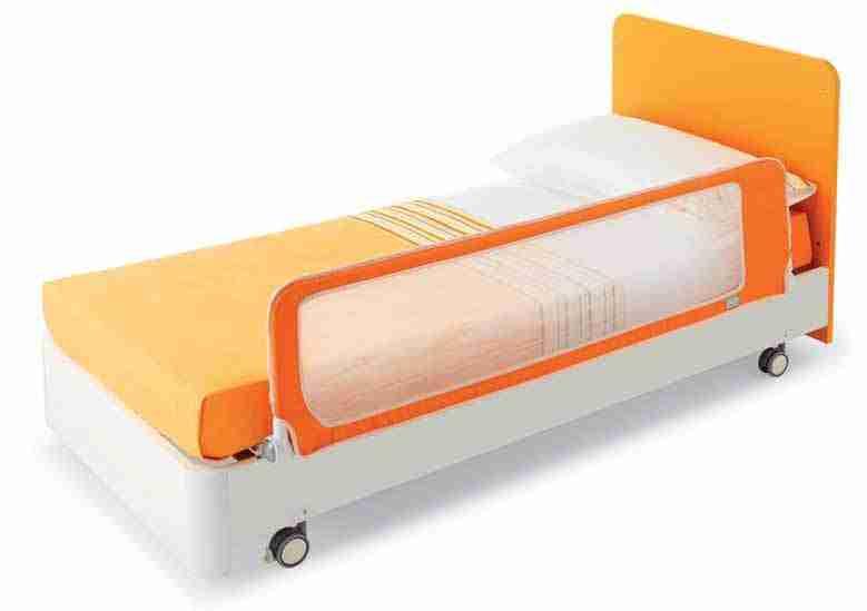 Barriera letto bimbo di sicurezza pali good 150 cm arancio - Sponda letto io bimbo ...