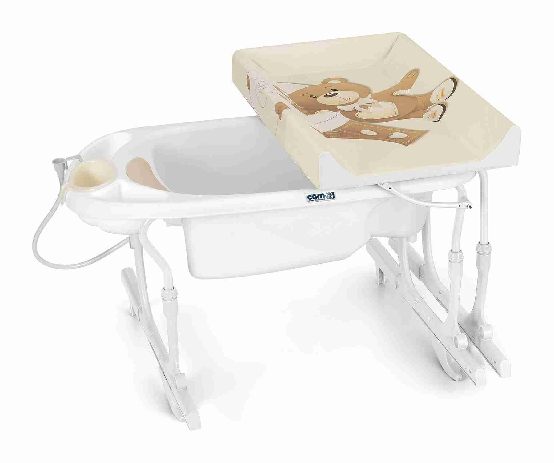 Bagnetto vasca da bagno idro baby estraibile cam - Fasciatoio vasca da bagno ...