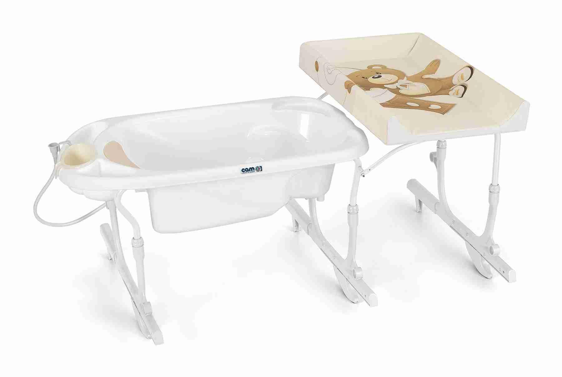 Bagnetto vasca da bagno IDRO BABY ESTRAIBILE CAM - Offertematerassi