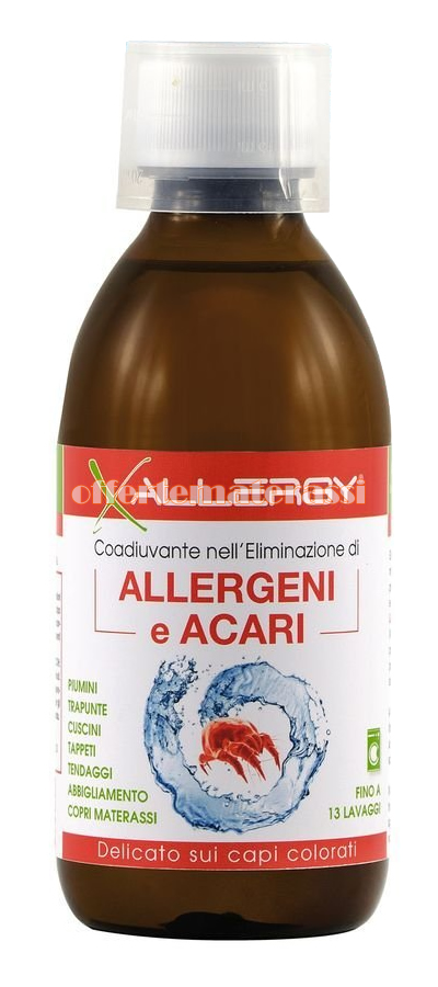 Spray Antiacaro Per Materassi.X Allergy Additivo Anti Acaro Per Bucato 250 Ml Offertematerassi