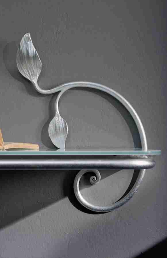 Ripiano comodino in ferro battuto modello Antita di Cosatto