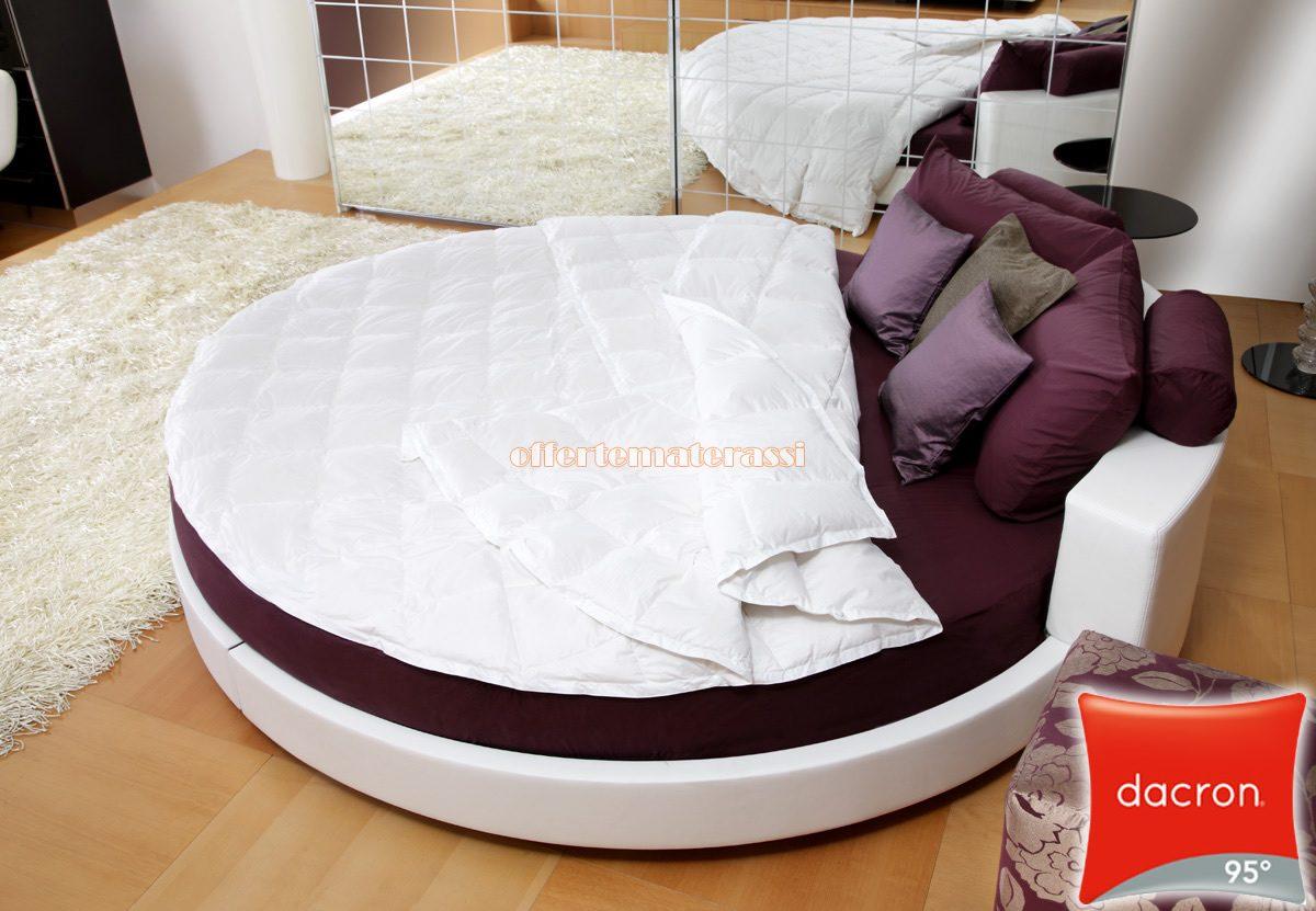 sports shoes 307f4 5fd82 Letto tondo Piumino Anallergico per materasso rotondo